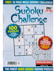 SUDOKU CHALLENGE MONTHLY