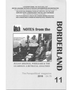 Notes From The Borderland Magazine