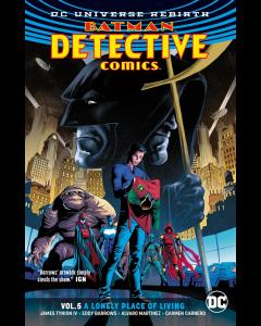 BATMAN DETECTIVE COMICS VOL 5 A LONELY PLACE OF LIVING REBIRTH