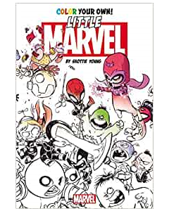 Young Marvel Colour Your Own