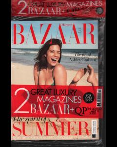 Harpers Bazaar + QP Magazine Bundle