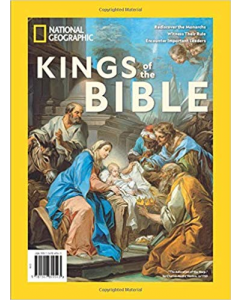 National Geographic Special Publication Magazine - #75 Kings Of The Bible