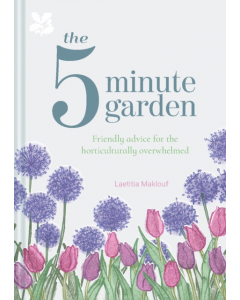 The Five Minute Garden Hb - Laetitia Maklouf