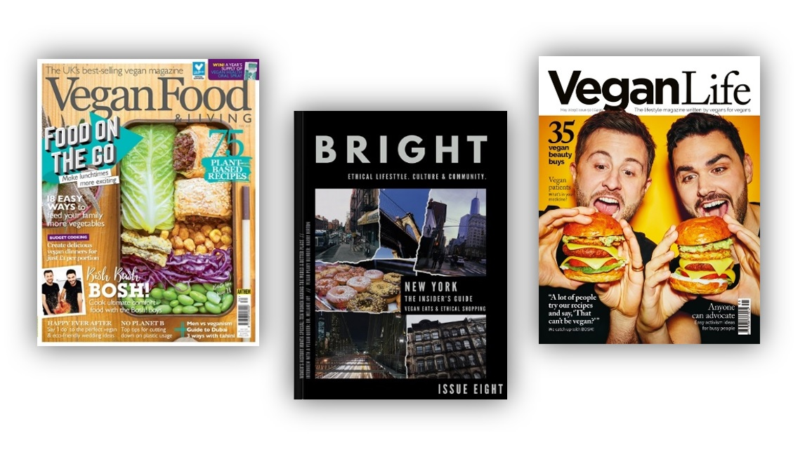 Vegan Magazines Galore!