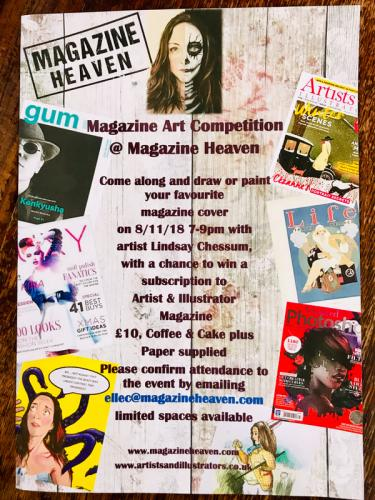 Art Events: Magazine Heaven, Rushden Lakes