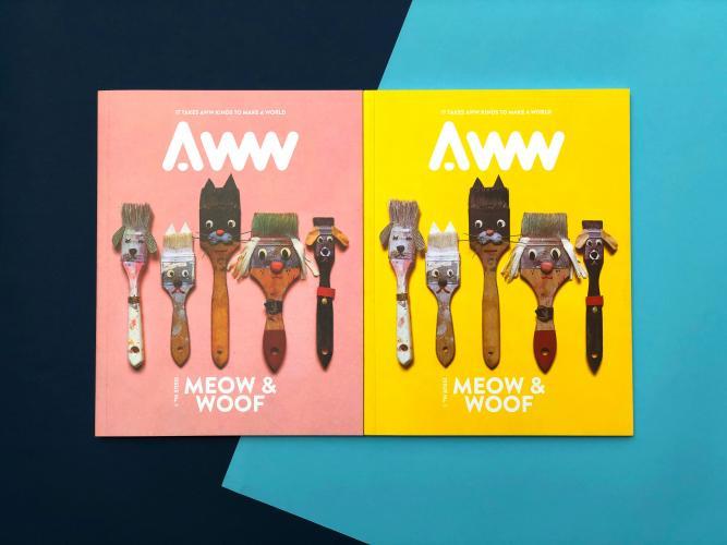 AWW Magazine - Vol 1. Cats & Dogs