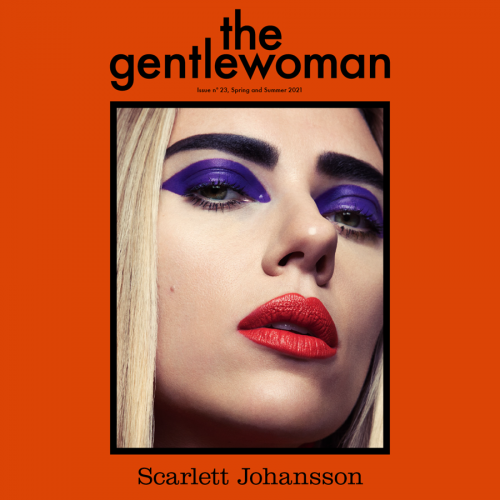 Unveiling…The new cover star of The Gentlewoman, Scarlet Johansson.